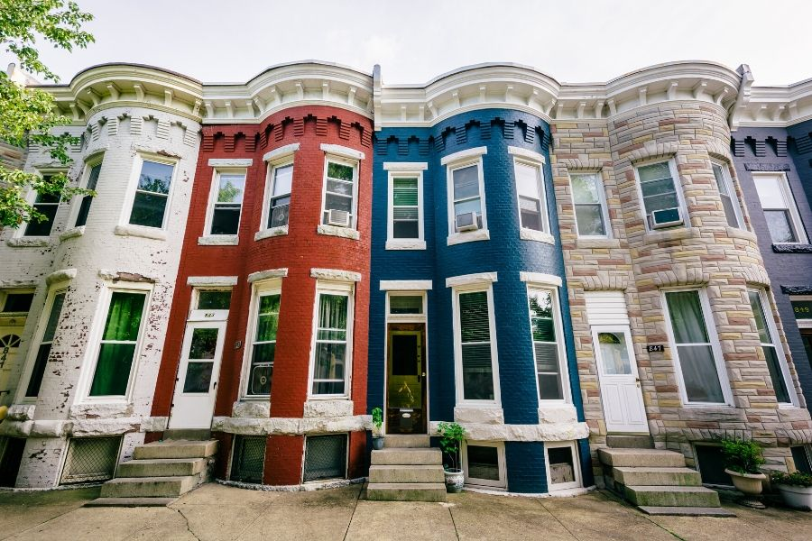 beautiful rowhouse